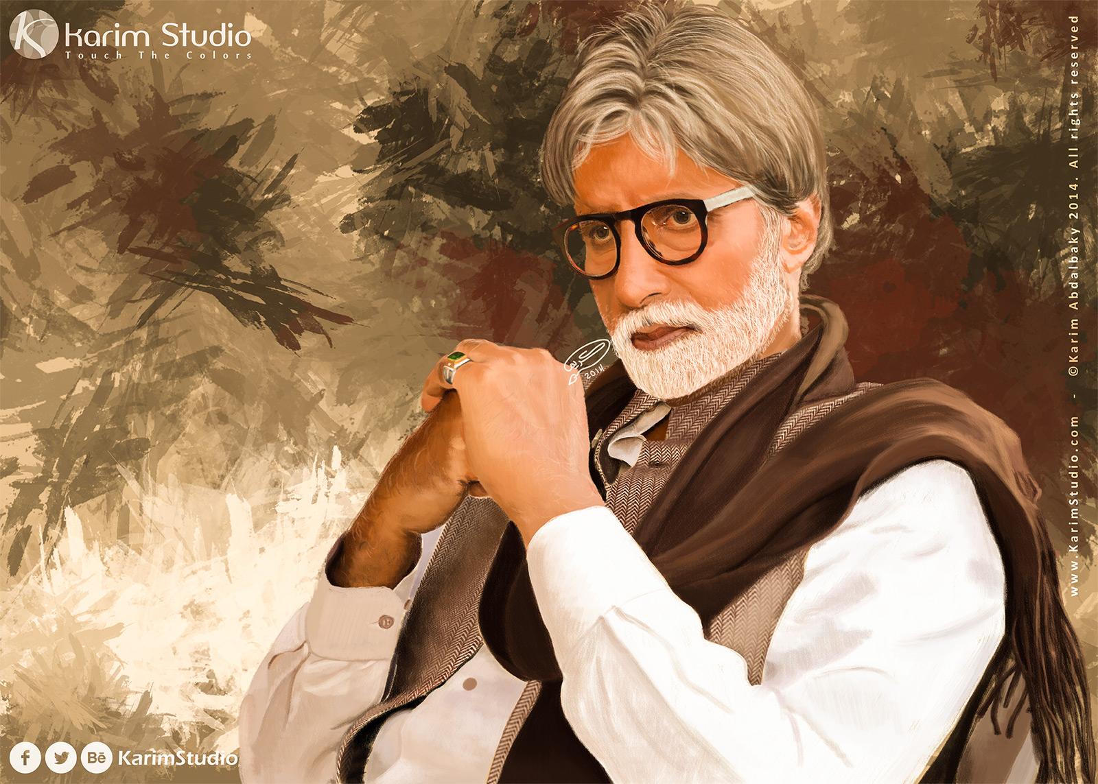 Bollywood Star Amitabh Bachchan