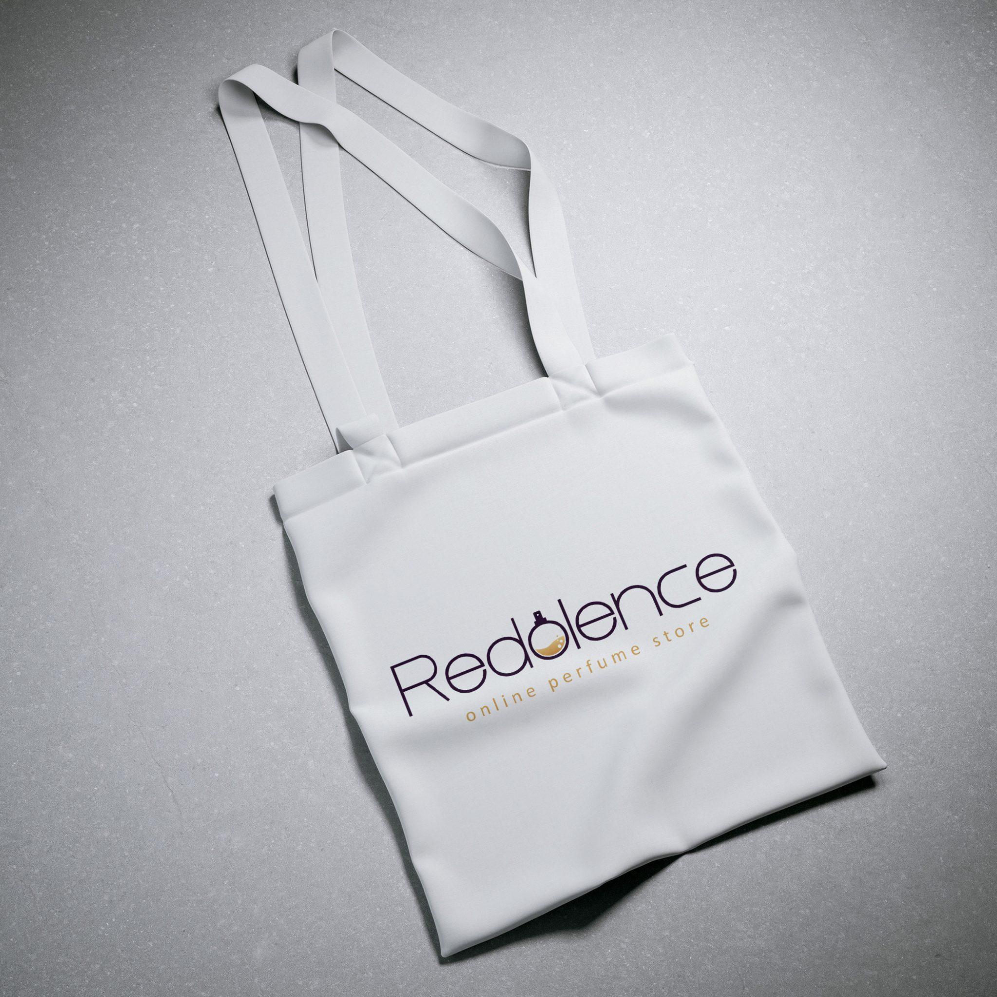White Cotton Textile Bag